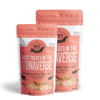 Granville Island Pet Treatery - Best Treats in the Tunaverse Tuna Flakes for Cats & Dogs 30g