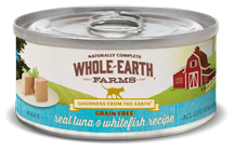 Whole Earth Farms Canned Cat Food-tuna & whitefish