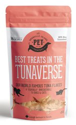 Granville Island Pet Treatery – Best Treats in the Tunaverse Tuna Flakes for Cats & Dogs