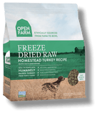 open farm freeze dried raw dog food homestead turkey