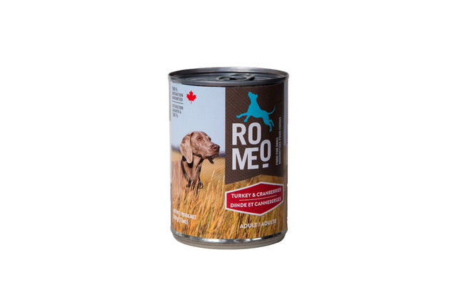 Romeo - Canned Dog Food - Turkey & Cranberries