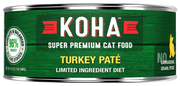 KOHA Turkey Pate Cat Food -5.5oz