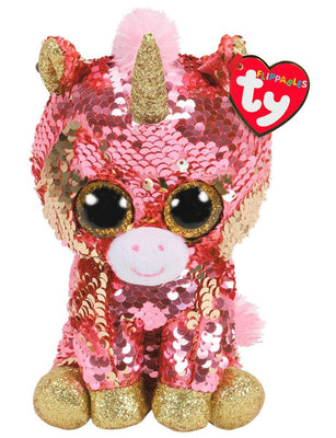 TY Beanie Boo Flippables Sunset 6