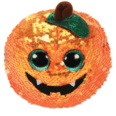 TY Beanie Halloween Pumpkin Flippable - Seeds (small) SALE