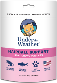 Under the Weather Soft Chews Cat Supplement Hairball Support