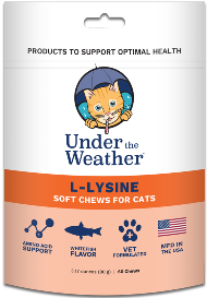 Under the Weather Soft Chews Cat Supplement L-Lysine