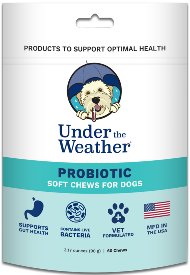 Under the Weather Soft Chews Dog Supplement Probiotic
