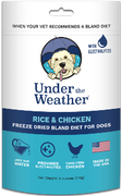 Under the Weather Dog Bland Diets with Electrolytes (Freeze Dried)