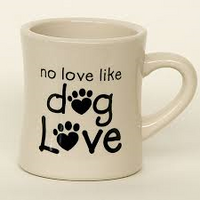 Ceramic Mug - No love like dog love