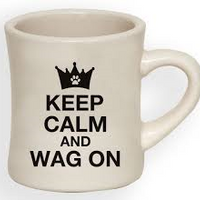 Ceramic Mug - Keep calm and wag on