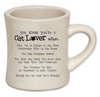 Ceramic Mug - you know you're a cat lover when...