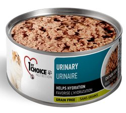 1st Choice Adult Urinary Health Chicken Pate 24 of 5.5oz Cat Wet