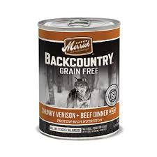 Merrick Backcountry Chunky Venison & Beef Dog Food