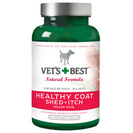 Vet's Best Shed+Itch Healthy Coat 50 chewable tablets