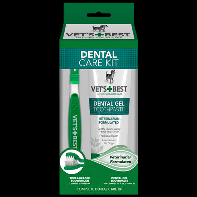 Vets Best Dental Care Kit
