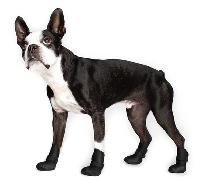Wellies Dog Boots - Black