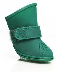 Wellies - Dog Boots - Green