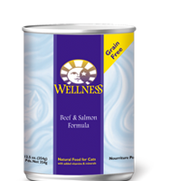 Wellness Beef & Salmon Formula 12.5 oz