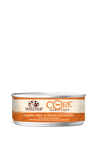Wellness CORE Grain Free - Chicken, Turkey & Chicken Liver Pate