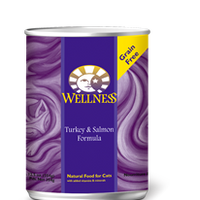 Wellness Turkey & Salmon Formula 12.5 oz