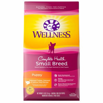Wellness ® Complete Health™ Small Breed Puppy Recipe Chicken, Oatmeal, & Salmon Meal Dry Food
