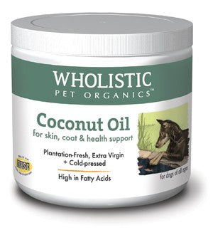 Wholistic organic coconut oil for pets