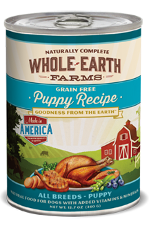 Whole Earth Farms - Puppy Recipe