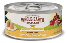 Whole Earth Farms Canned Cat Food-chicken