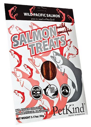 PetKind Wild Pacific Salmon Treats 90g