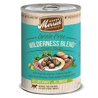 Merrick Wilderness Blend Canned Dog Food 12 Cans
