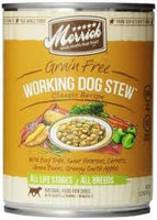 Merrick Canned Dog Food - Working Dog