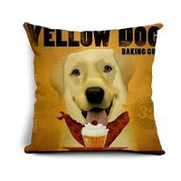 NPF - Pillow Cover - Yellow Dog