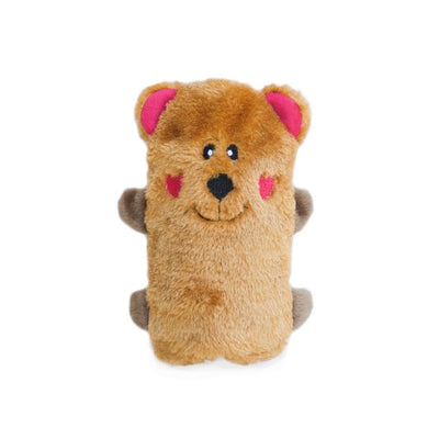 Zippy Paws Colossal Buddie - Bear Dog Toy