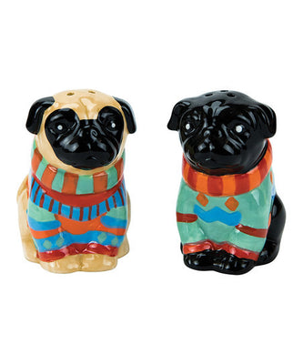 Boston Warehouse - Salt and Pepper Set - Pugly Sweater