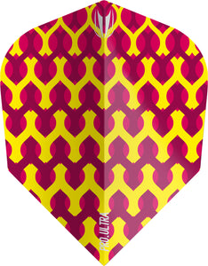 Target Fabric Pro Ultra Flights - Yellow Ten-X