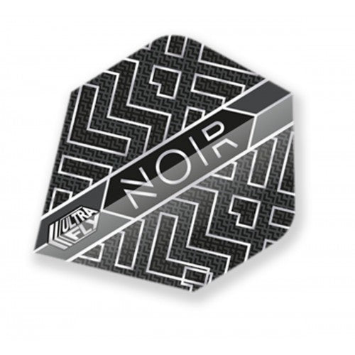 Unicorn 100 Micron  Ultrafly Dart Flights - Noir Abstract  (Flight Shape - Plus/Standard)