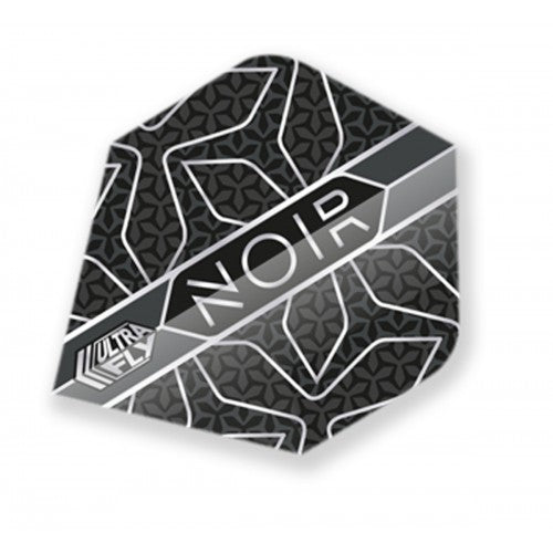 Unicorn 100 Micron  Ultrafly Dart Flights - Noir Star (Flight Shape - Plus/Standard)