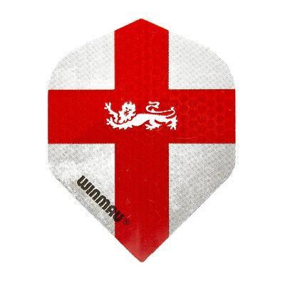 Winmau Mega Standard Winmau St George Flag with Lion Dart Flights