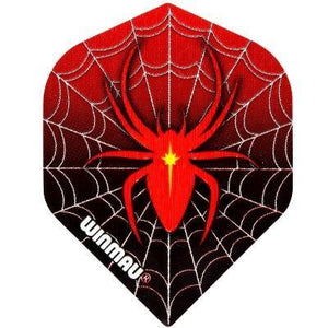 Winmau Mega Standard Red Spider Dart Flights