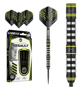Winmau Michael van Gerwen MvG Assault 90% Tungsten Steel Tip Darts