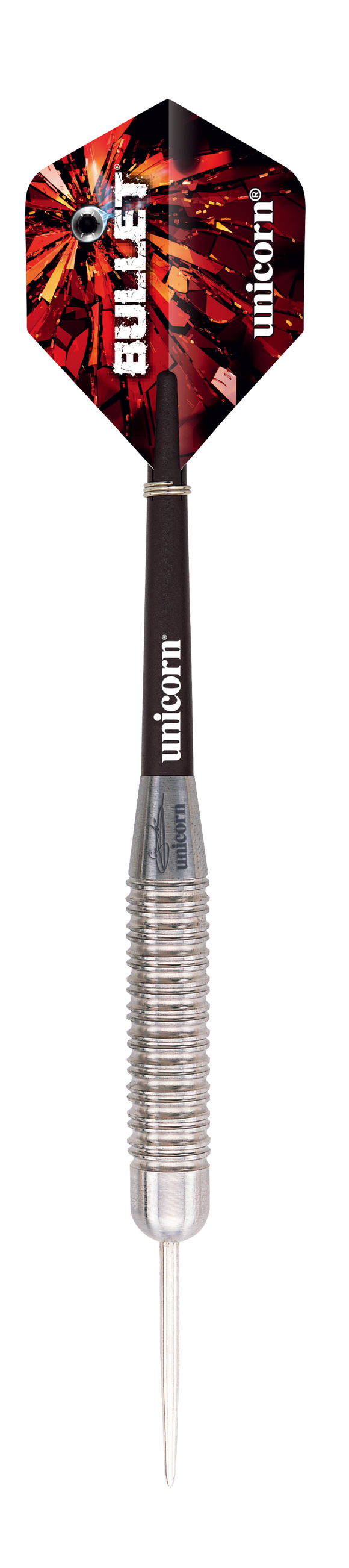 Unicorn Gary Anderson Bullet Stainless Steel, Steel Tip Darts 22g, 24g, 26g