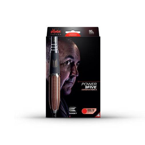 Target Phil Taylor Power 9Five Gen 5 95% Tungsten Steel Tip Darts