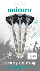 Unicorn Maestro Jeffrey de Zwaan 90% Tungsten Steel Tip Darts
