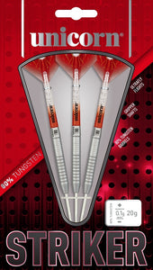 Unicorn Striker Type 6 - 80% Tungsten Steel Tip Darts