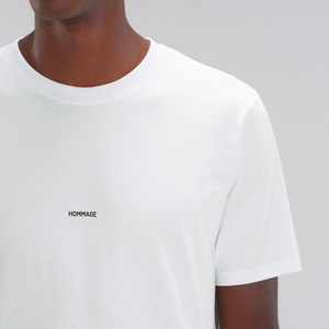 Hommage Motif T-Shirt White