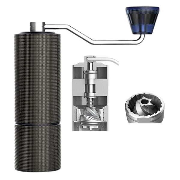 JBM Chestnut C2 Manual Coffee Grinder Blue