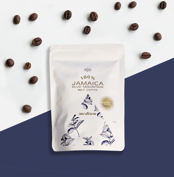 ROAST TO ORDER 100% JAMAICA BLUE MOUNTAIN COFFEE BEAN #1 GRADE