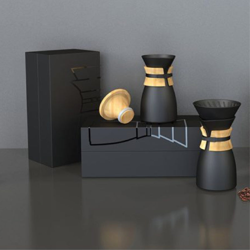 JBM Ceramic Pour Over Coffee Maker