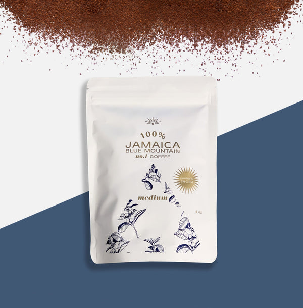 GROUND TO ORDER 100% JAMAICA BLUE MOUNTAIN COFFEE BEAN #1 GRADE