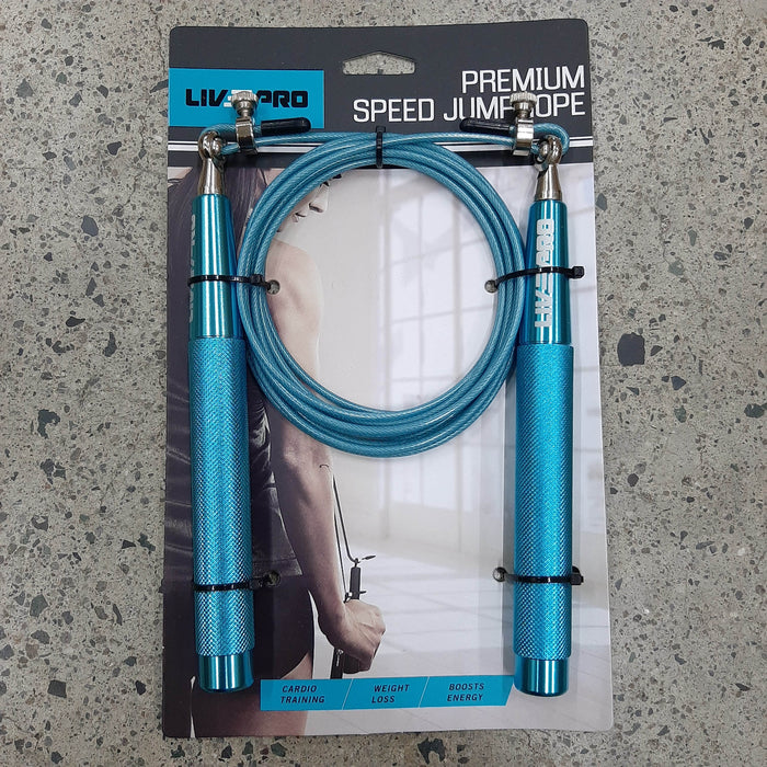 Livepro Speed Rope- Steel Handle